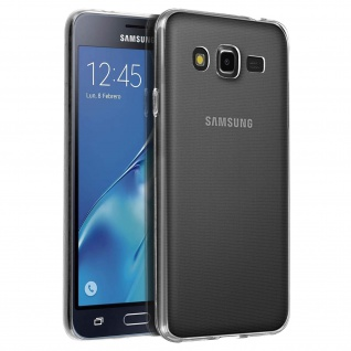 Samsung Galaxy J5 Schutzhülle Silikon ultradünn (0.30mm) - Transparent