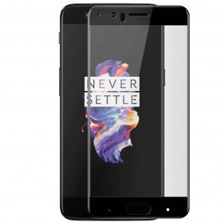 9H Härtegrad kratzfeste Glas-Displayschutzfolie für OnePlus 5 - Schwarz