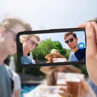 Flip Cover mit Smart View Sichtfenster für Huawei P Smart Plus - Schwarz - Vorschau 3