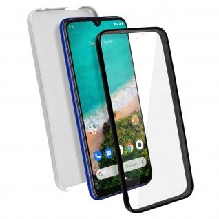 Schutzhülle für Xiaomi Mi A3, Vorder- + Rückseite ? Silber