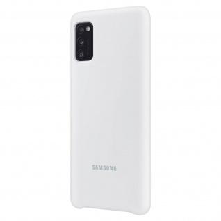 Original Samsung Soft Touch Cover Silikon für Samsung Galaxy A41 - Weiß