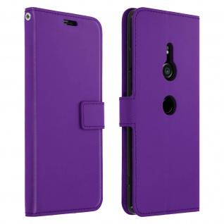 Flip Stand Cover Brieftasche & Standfunktion Sony Xperia XZ3 - Violett - Vorschau 1