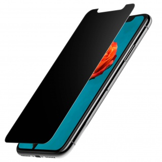 Force Glass Displayschutzfolie iPhone X Blickschutz - Lebenslange Garantie