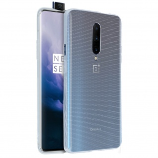 OnePlus 7 Pro Schutzhülle Backcover Silikon Second Skin - Transparent