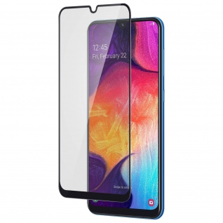 9H Härtegrad kratzfeste Glas-Displayschutzfolie für Samsung Galaxy A50 - Schwarz