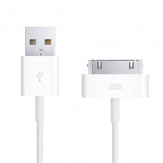 Original Apple USB/30-polig Ladekabel - Aufladen & Synchronisierung - Weiß