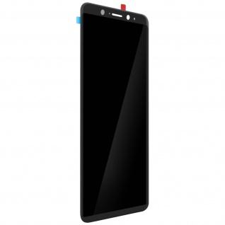 LCD Komplettset mit Touchscreen Ersatzteil für Wiko View XL - Schwarz