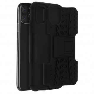 Stoßfeste Schutzhülle + Standfunktion für Apple iPhone 11 Pro - Schwarz