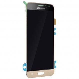 Original Samsung LCD Komplettset Samsung Galaxy J3 + Touchscreen - Gold