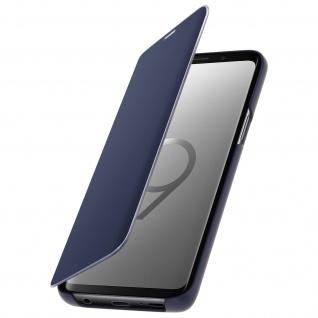 Original Samsung Clear View Standing Cover für Samsung Galaxy S9 - Blau - Vorschau 3