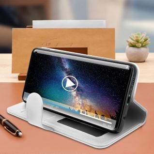 Flip Stand Cover Brieftasche & Standfunktion für Samsung Galaxy S10 - Weiß - Vorschau 4