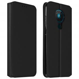 Kunstleder Cover Classic Edition Nokia 5.3 ? Schwarz