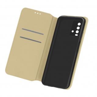 Kunstleder Cover Classic Edition für Xiaomi Redmi 9T ? Gold