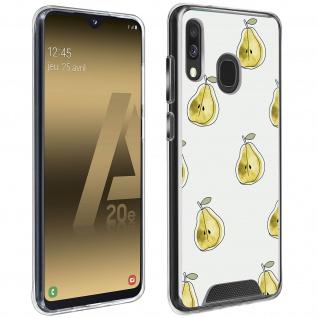 Stoßfeste Handyhülle für Samsung Galaxy A20e, Made in France ? Birnen Design