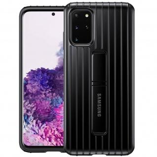 Original Samsung Standing Backcover Case für Samsung Galaxy S20 Plus - Schwarz