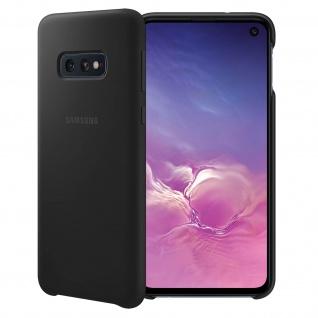 Original Samsung Soft Touch Cover Silikon für Samsung Galaxy S10e - Schwarz