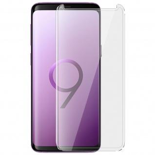 Displayschutzfolie mit abgerundeten Kanten Transparent für Samsung Galaxy S9