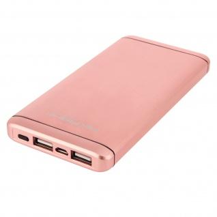 Akashi Tragbarer Akkupack für Smartphones und Tablets - 10000 mAh - Rosa