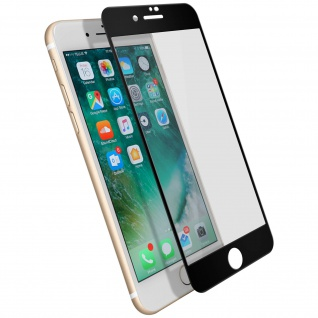 Displayschutzfolie, 9H 11D Schutzfolie für Apple iPhone 7 / 8 / SE 2020 Schwarz