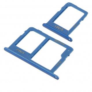 1x Nano SIM-Kartenhalter, 1x Nano SIM-/Micro-SD Kartenhalter für Galaxy A6
