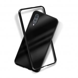 Samsung Galaxy A70 Bumper magnetische Hülle - Schwarz