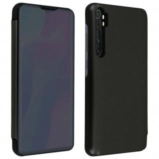 Xiaomi Mi Note 10 Lite View Cover mit Spiegeleffekt & Standfunktion ? Schwarz