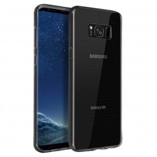 Samsung Galaxy S8 Plus Schutzhülle Silikon Second Skin - Transparent