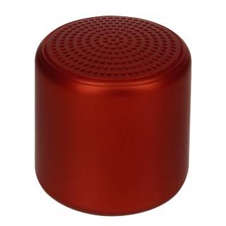Little Fun Collection 3W Bluetooth Mini Lautsprecher 3Std. Akkulaufzeit ? Rot