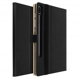 Klappetui mit Kartenfach & Standfunktion Samsung Galaxy Tab S6 10.5 - Schwarz