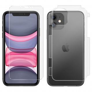 Antibakterielle 360° Rundumschutzfolie für Apple iPhone 11 ? Transparent