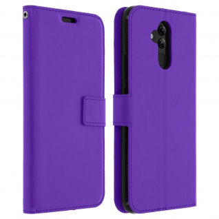 Flip Stand Cover Brieftasche & Standfunktion Huawei Mate 20 lite - Violett