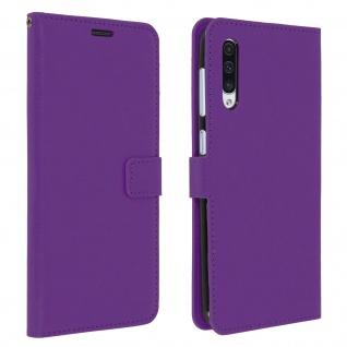 Flip Stand Cover Brieftasche & Standfunktion für Samsung Galaxy A50 - Violett