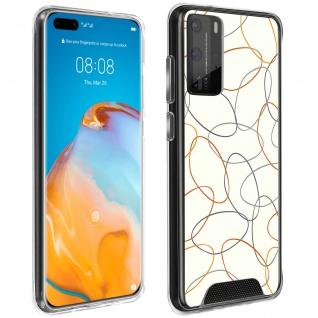Handyhülle für Huawei P40 Pro, Made in France ? Gekritzel Design