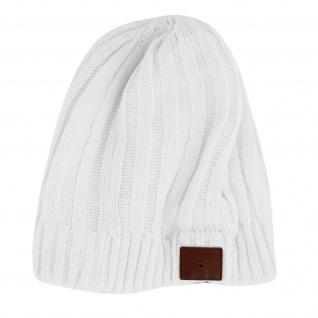 4smarts Mütze mit integriertem Bluetooth Headset ? Weiß