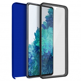 Schutzhülle für Samsung Galaxy S20 FE, Vorder- + Rückseite ? Blau