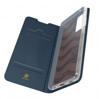 Klappetui mit Kartenfach & Standfunktion Samsung Galaxy A72 ? Dunkelblau