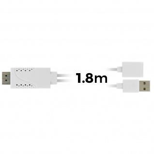 USB Kabel MHL weiblich zu HDMI männlich zu männlich HDTV Smartphone/Tablett - Vorschau 4
