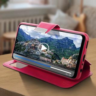 Klappetui mit Sichtfenster & Ständer Huawei P Smart 2019, Honor 10 Lite - Rosa - Vorschau 4