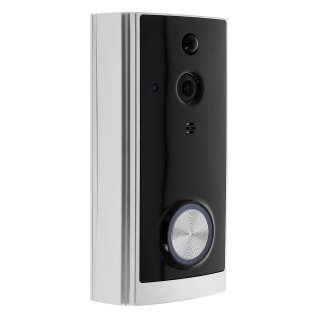 WLAN Türklingel by Ilfa, Doorbell mit Nachtsicht und Bewegungssensor - Schwarz