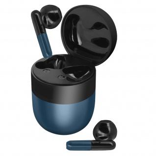 Bluetooth Sport-Kopfhörer 24 Std. Akkulaufzeit IPX5 zertifiziert ? Dunkelblau