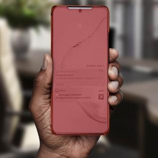 Mirror Klapphülle, Spiegelhülle für Samsung Galaxy Note 10 Lite - Rosegold - Vorschau 4