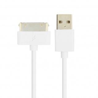 Apple 30-polig auf USB Kabel 2.1A Inkax - 1M Aufladen und Synchronisieren - Vorschau 2
