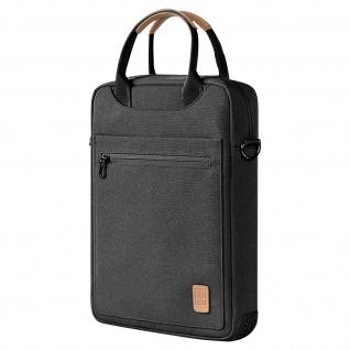 12, 9 Zoll Multicompartment Wasserdicht Laptop / Tablet Tasche Wiwu - Schwarz