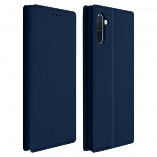 Kunstleder Cover Classic Edition Samsung Galaxy Note 10 - Dunkelblau