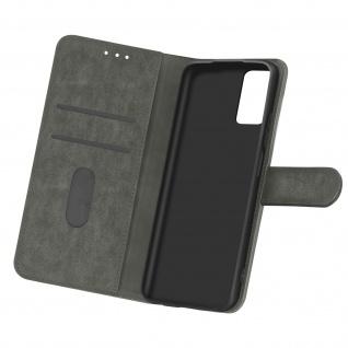 Flip Cover Geldbörse, Etui Kunstleder für Samsung Galaxy A32 ? Grau