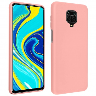 Soft Touch Hülle Xiaomi Redmi Note 9 Pro Max / Note 9 Pro /Note 9S - Rosa