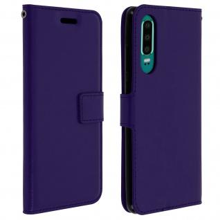 Flip Stand Cover Brieftasche & Standfunktion für Huawei P30 - Violett