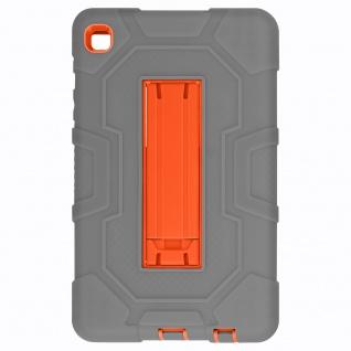 Stoßfeste Schutzhülle mit Ständer für Samsung Galaxy Tab A7 Lite ? Grau