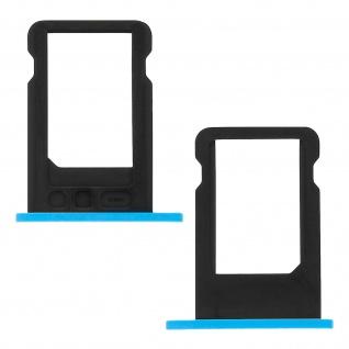 Nano-Sim-Ersatz-Kartenhalter für Apple iPhone 5C - Blau - Vorschau 2