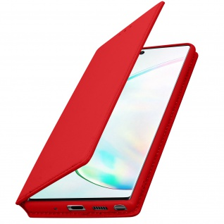 Kunstleder Cover Classic Edition Samsung Galaxy Note 10 - Rot - Vorschau 2